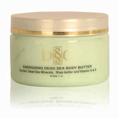 Deep Sea Cosmetics Energizing Dead Sea Body Butter – Cucumber Green Tea Scent