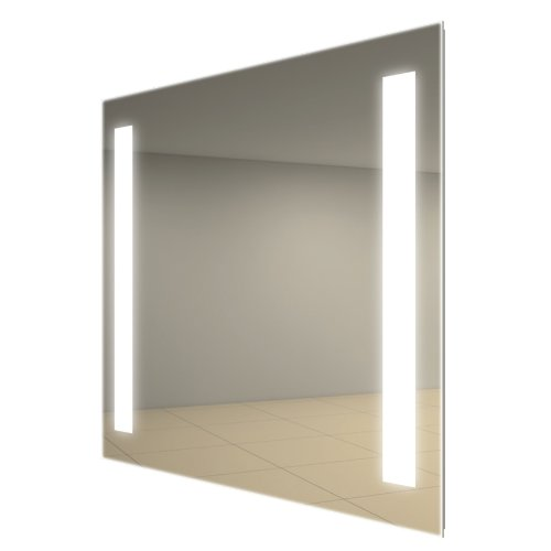 """Electric Mirror Lighted In-Shower Fog Free Mirror 11.75"""" W X 23.75""""H"""