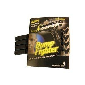 Bump Fighter Mens Disposable Razors Mens - 12-4packs (48 count)