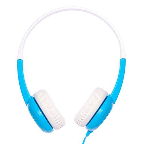 【日本正規代理店品】Onanoff BuddyPhones with BuddyCable (子供の耳にやさしい音量制限構造) ブルー BP-BLUE