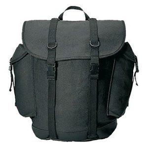 BW German Military Mountain Rucksack Backpack 25L Black by Mil-Tec