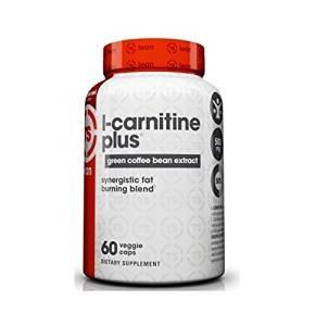 Top Secret Nutrition L-Carnitine Plus Capsules, Green Coffee, 60 Count