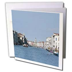Vacation Spots - Venezia Italy - Greeting Cards-6 Greeting Cards with envelopes