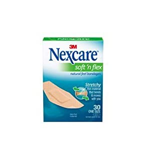 Nexcare Comfort Fabric Bandages, One Size-30ct 3 Pack