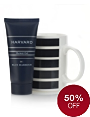 Blue Harbour Harvard Mug Gift Set