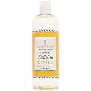 Deep Steep - Foaming Hand Wash Tangerine Refill - 16 oz ( Multi-Pack)