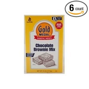 Gold Medal Chocolate Brownie Mix 6 Case 6 Pound (Gold Medal Mix compare prices)