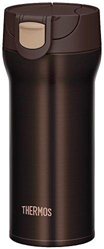 サーモス 水筒 真空断熱ケータイタンブラー 【ワンタッチオープンタイプ】 0.36L ブラウン JNM-360 BW