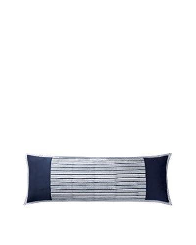 Suchiras Ikat Bolster Pillow, Blue