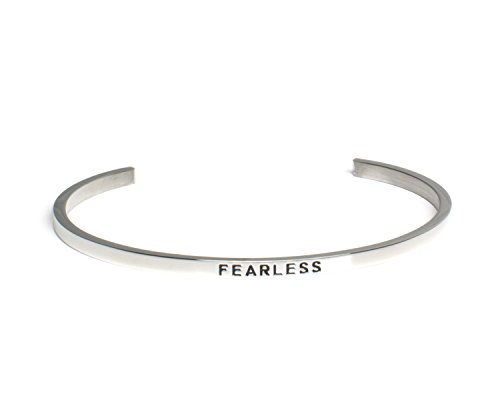 FEARLESS:Mantra Bracelet, Inspirational gift,100% Guaranteed,Perfect Gift.