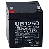 UB1250 SLA Battery 12 Volt 5 AMP Hours [Electronics]