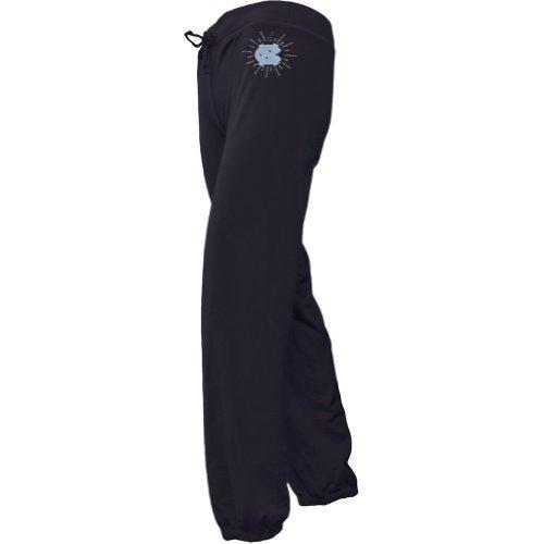 N. Carolina Tar Heels - Foil Logo Girls Juvy Drawstring Sweatpants Dark Blue J7