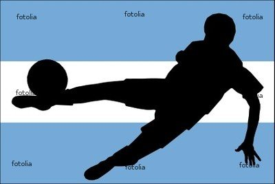 Wallmonkeys Peel and Stick Wall Graphic - Calcio Argentino - 24