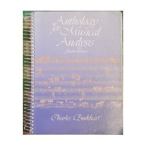 Anthology for Musical Analysis (German Edition)