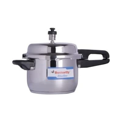 Butterfly Blueline S.steel Induction Based Pressure Cooker - 3 Ltrs