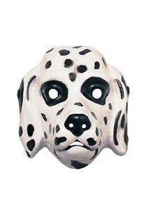 [Basic Dalmatian Mask Rubies 3280] (Dalmatians Costume Makeup)