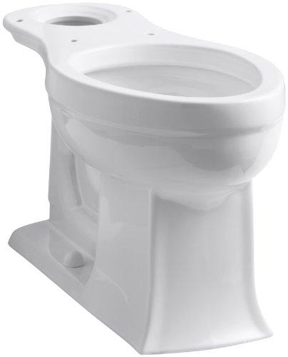 Pleasant Kohler K 4356 0 Archer Comfort Height Elongated Bowl White Uwap Interior Chair Design Uwaporg