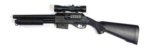 Double Eagle M47 A2 Airsoft Gun Pump Action Shotgun