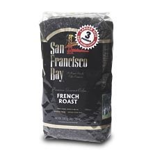 San Francisco Bay French Roast Fresh Whole Bean Coffee-3 Lbs by San Francisco Bay