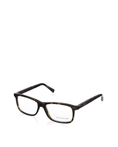 Ermenegildo Zegna Men's EZ5013 Eyeglasses, Dark Havana