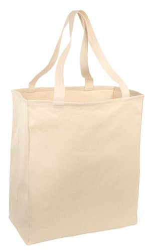 Port & Company® Over-the-Shoulder Grocery Tote