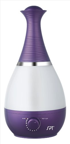 SPT SU-2550V Ultrasonic Humidifier with Fragrance Diffuser, Violet - 1
