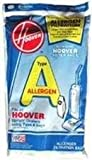 Hoover Filter Bags Type A Allergen Filtration 4010100A (3 Packs of 4) Total of 12 Bags