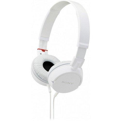 Sony Lightweight Extra Bass Stereo Headphones (White)