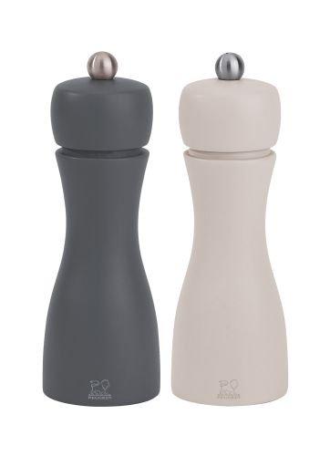 peugeot-saveurs-2-27285-duo-moulin-a-poivre-et-a-sel-tahiti-hiver-bois-zinc-tourterelle-155-cm