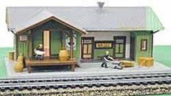 Model Power HO Scale Redwood Station - Built Up