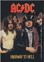 AC/DC Highway To Hell portachiavi