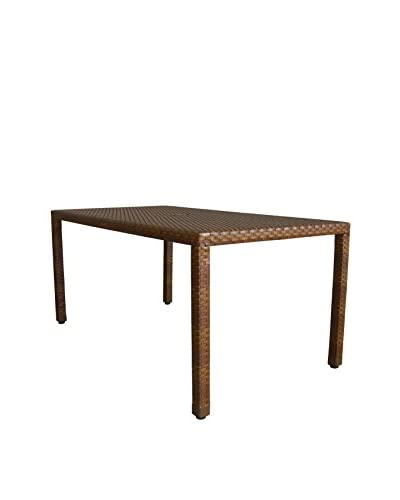 Panama Jack St Barths Rectangular Dining Table, Brown