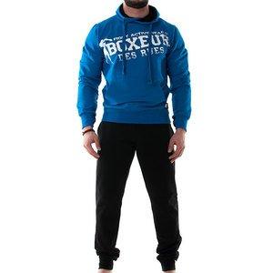 Boxeur Des Rues Fight Activewear Completo Tuta, Uomo, Royal, M