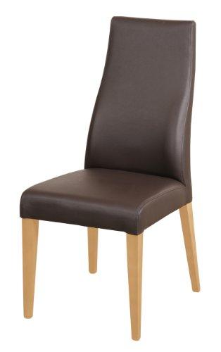 SAM-Echtleder-Stuhl-Bjrn-Polster-Stuhl-Leder-Farbe-braun-Bein-Farbe-Buche-massiv-Esszimmer-Stuhl-aus-Dick-Leder-Design-Stuhl-mit-Rckenlehne-leicht-geschwungen
