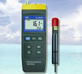 Kombimessgerät Meter Sauerstoff PH-Wert Temperatur Redox EC Leitwert O2 Aquarium Teich SA3