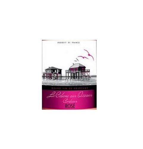 2012 La Cabane Aux Oiseaux Bordeaux Rose 750 Ml