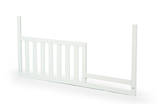 Munire Chesapeake Full Panel Crib Guard Rail, White - 1