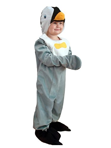 [Fantasy World Boys/Girls Penguin Halloween Costume, Size 3T, J13] (Toddler Frog Prince Halloween Costume)