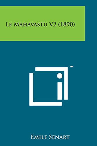 Le Mahavastu V2 (1890)