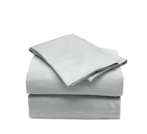 Easy Tuck (Tm) 300 Thread Count 100% Combed Cotton Sheet Set (Slate, Queen)