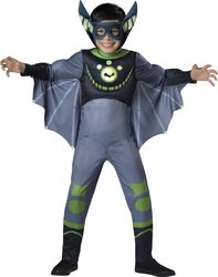 Wild Kratts Green Bat Costume