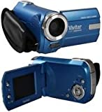 Vivitar DVR508 HD Digital Video Camcorder in Blue with 1.8