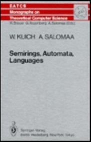Semirings, Automata, Languages
