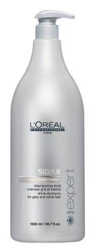 L'Oréal Professionnel Serie Expert Silver 1500ml (Salon Size) and Pump