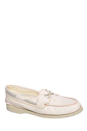 2-Eye Washed Boat Shoe