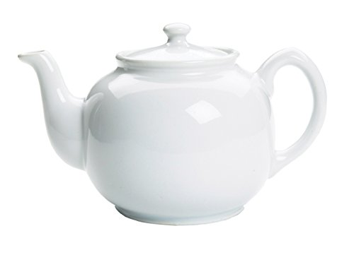 Fox Run 10-cup Earthenware Teapot, 55-Ounce, White (White Modern Teapot compare prices)