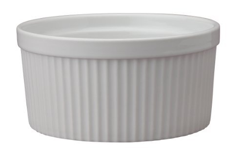 Hic 32-Ounce Porcelain Souffle 6-Inch Size: 6-Inch Home & Kitchen