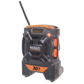 f8f57f3062d Ridgid ZRR84084 X4 18V Cordless Mini Jobsite AM FM Radio · Shop Fox W1713  16-Inch Variable Speed Scroll Saw