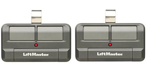 Lot of 2 LiftMaster 892LT 2 Button Visor Learning Garage Door Remote (Garage Door Opener Learning compare prices)