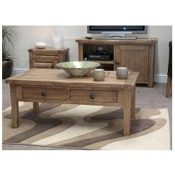 Tilson Solid Rustic Oak Furniture Coffee Table